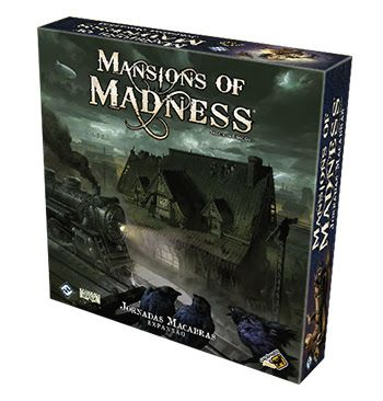 Mansions of Madness Jornadas Macabras Expansão Galapagos MOM007  - Place Games