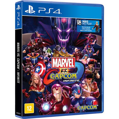 Marvel vs Capcom Infinite Playstation 4 Original Lacrado  - Place Games