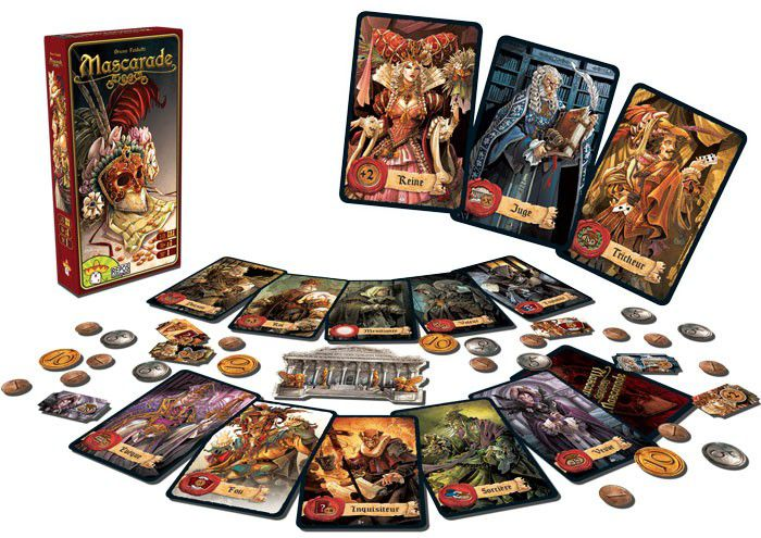 Mascarade Jogo de Cartas Red Box  - Place Games