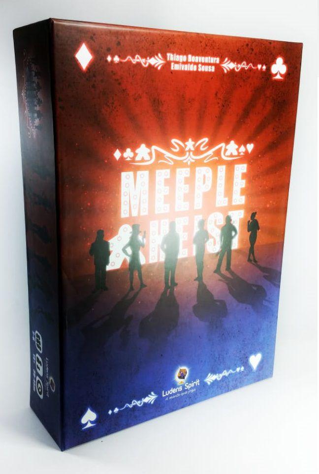 Meeple Heist Jogo de Tabuleiro Ludens Spirit JTR021  - Place Games