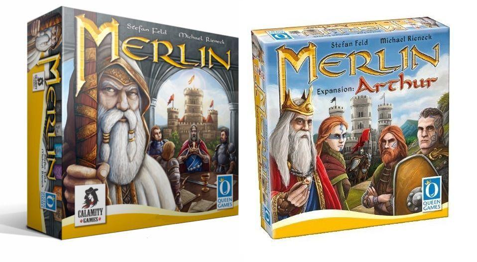 Merlin + Expansão Arthur Jogo de Tabuleiro Calamity Games  - Place Games
