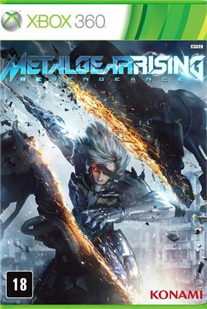 Metal Gear Rising Reveangence Xbox 360 Original Lacrado  - Place Games