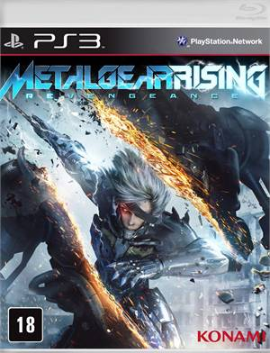 Metal Gear Rising Revengeance Ps3 Lacrado Original  - Place Games