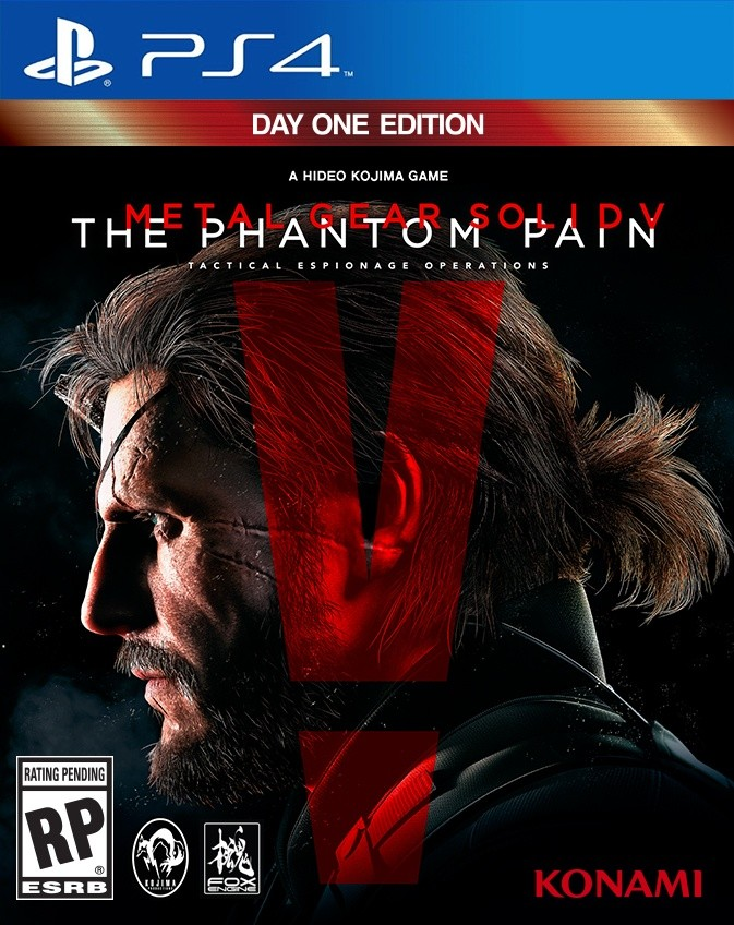 Metal Gear Solid V - Phantom Pain Playstation 4 Original Usado  - Place Games