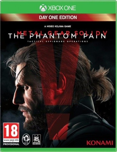 Metal Gear Solid V Phantom Pain Day One Xbox One Original Usado  - Place Games