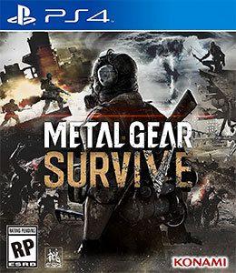 Metal Gear Survive PS4 Original Usado  - Place Games