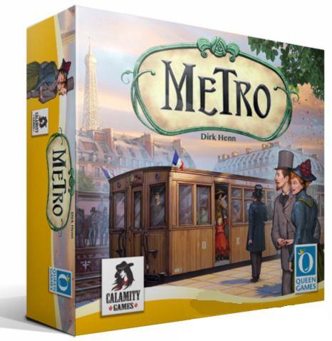 Metro Jogo de Tabuleiro Calamity Games  - Place Games