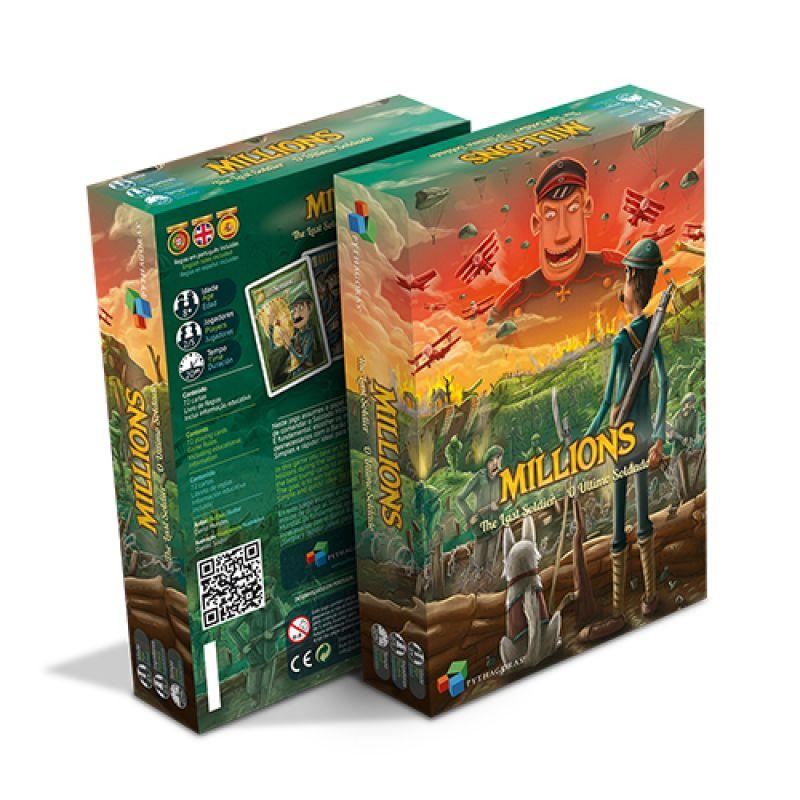 Millions o último Soldado Sherlock MIL001  - Place Games