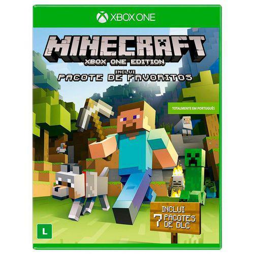 Minecraft + pacote favoritos Xbox One Original Lacrado  - Place Games