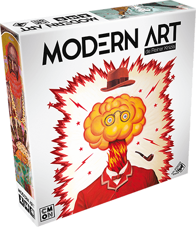 Modern Art Jogo de Cartas Galapagos MDA001  - Place Games