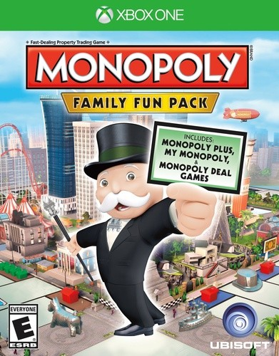 Monopoly Family Fun Pack Xbox One Original Usado  - Place Games