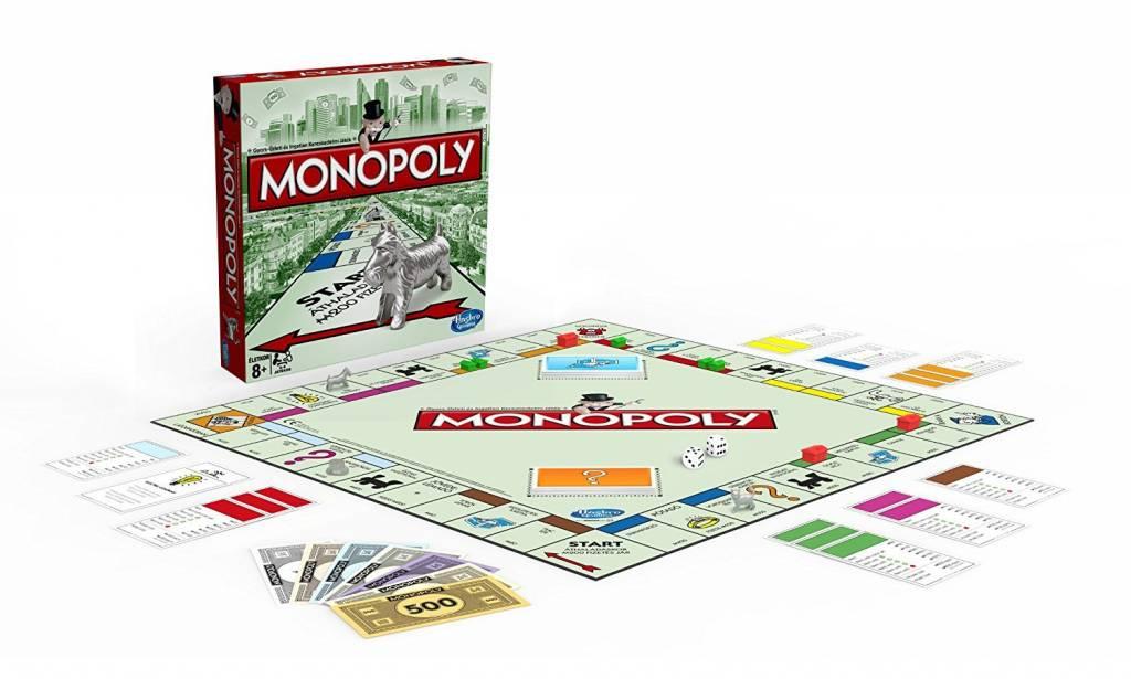 Monopoly Jogo de Tabuleiro Hasbro 00009  - Place Games