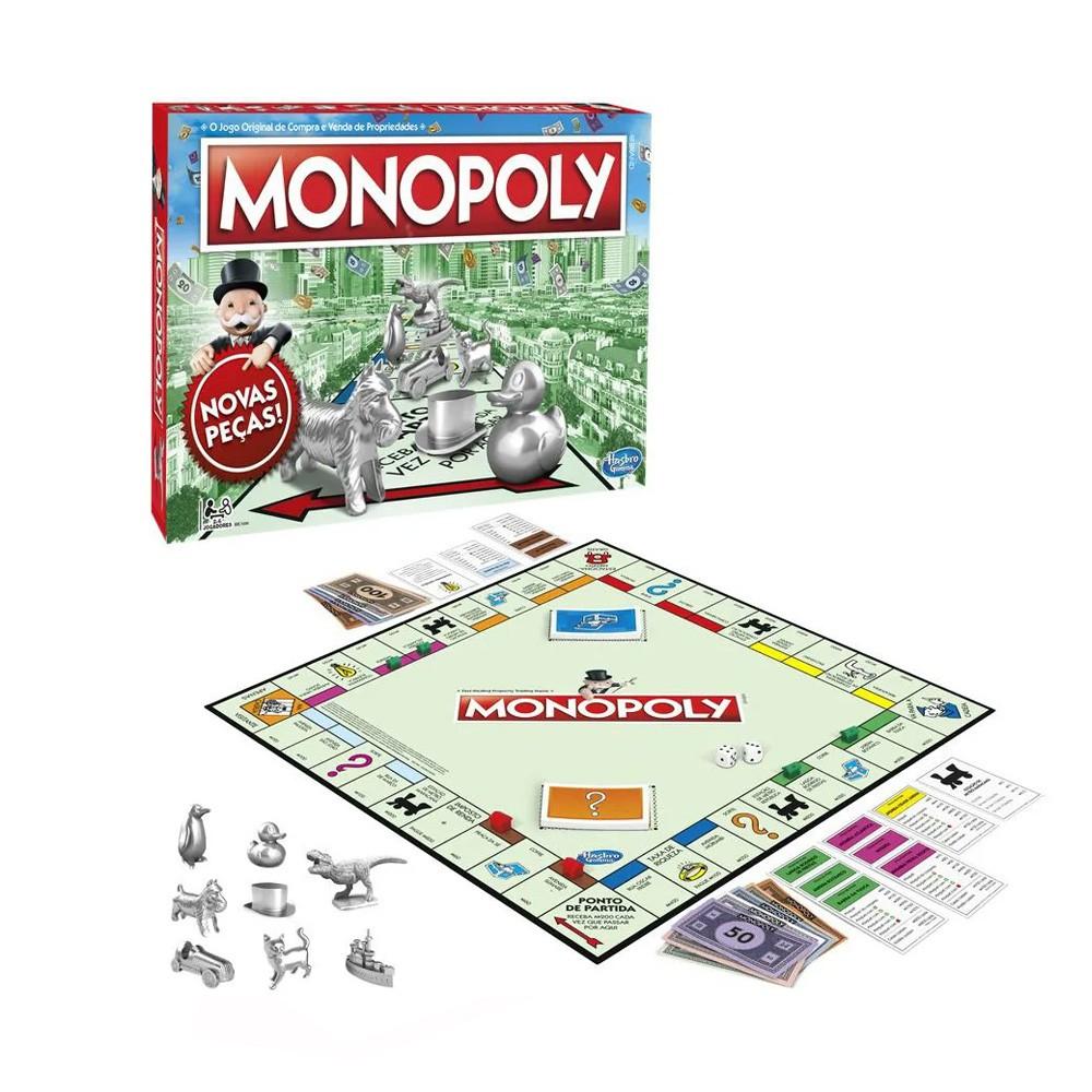 Monopoly Jogo de Tabuleiro Hasbro C1009  - Place Games