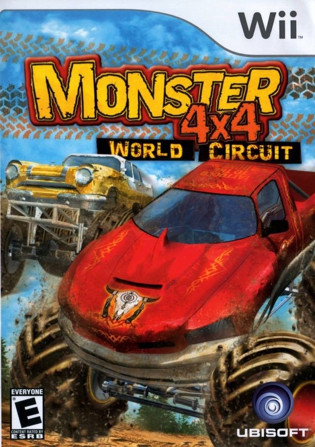 Monster 4x4 World Circuit Wii Usado Original  - Place Games