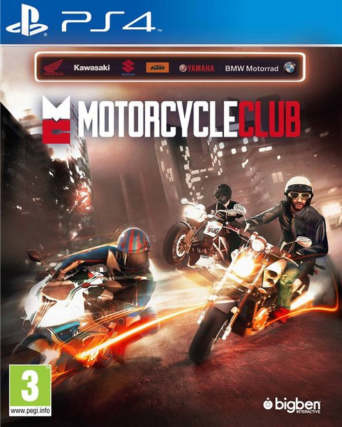 Motorcycle Club Playstation 4 Original Usado  - Place Games
