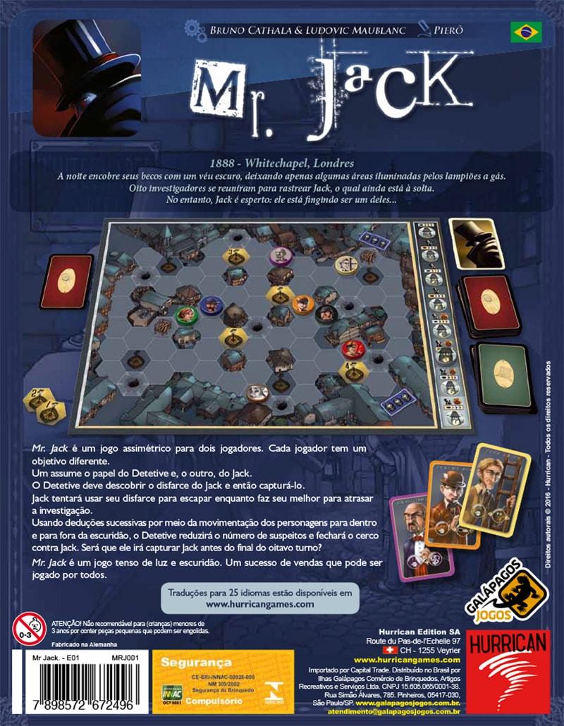 Mr. Jack Galapagos MRJ001  - Place Games