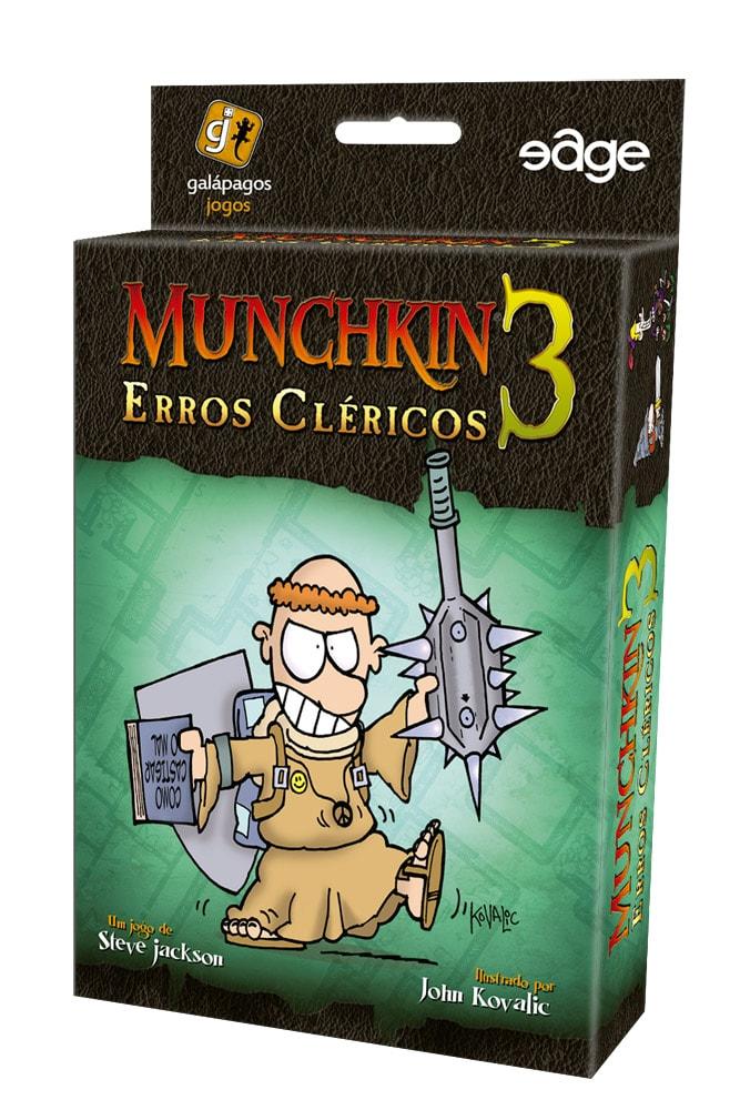 Munchkin 3 Erros Clericos Galapagos MUN003  - Place Games