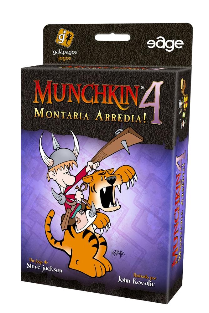 Munchkin 4 Montaria Arredia Galapagos MUN004  - Place Games