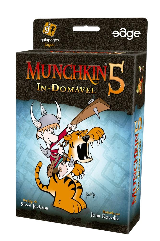 Munchkin 5 In-Domável Galapagos MUN005  - Place Games