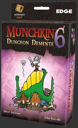 Munchkin 6 Dungeon Demente Galapagos MUN006  - Place Games