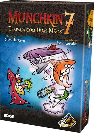 Munchkin 7 Trapaça com duas mãos Expansão de Jogo de Cartas Galapagos MUN007  - Place Games