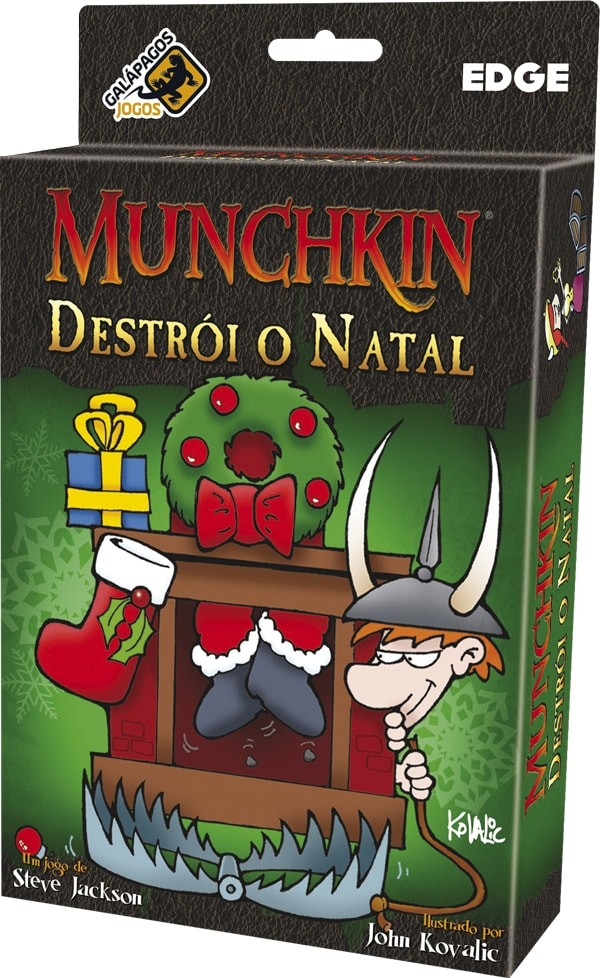 Munchkin Destrói o Natal Galapagos MUN101  - Place Games