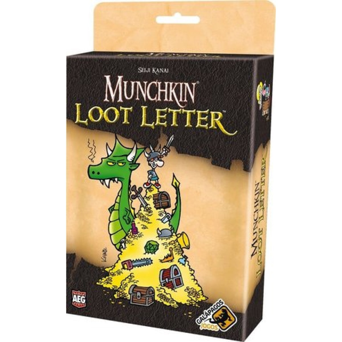 Munchkin Loot Letter Galapagos MUL001  - Place Games