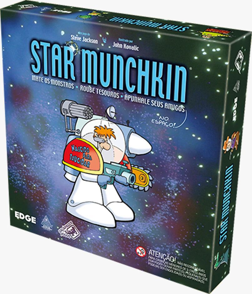 Munchkin Star Munchkin Jogo de Cartas Galapagos MUS001  - Place Games