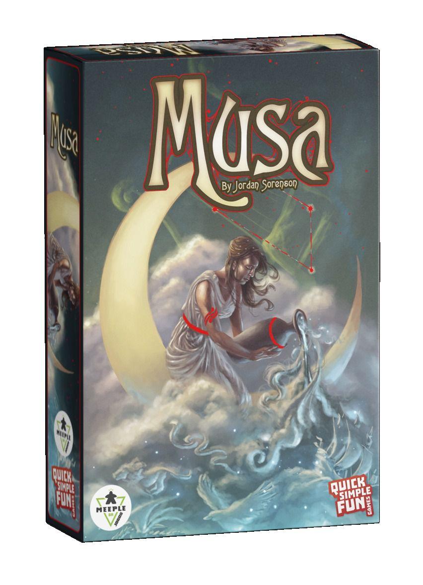 Musa Jogo de Cartas Meeple BR  - Place Games