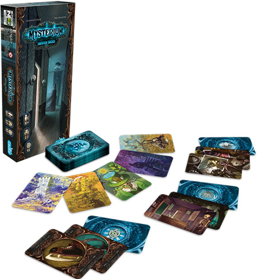 Mysterium Hidden Signs Expansão de Jogo de Tabuleiro Galapagos MYS002  - Place Games