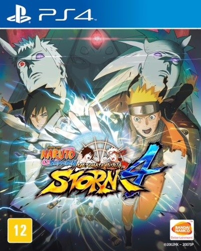Naruto Shippuden Ultimate Ninja Storm 4 Playstation 4 Original Lacrado  - Place Games