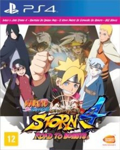 Naruto Shippuden Ultimate Ninja Storm 4 Road to Boruto Playstation 4 Original Lacrado  - Place Games
