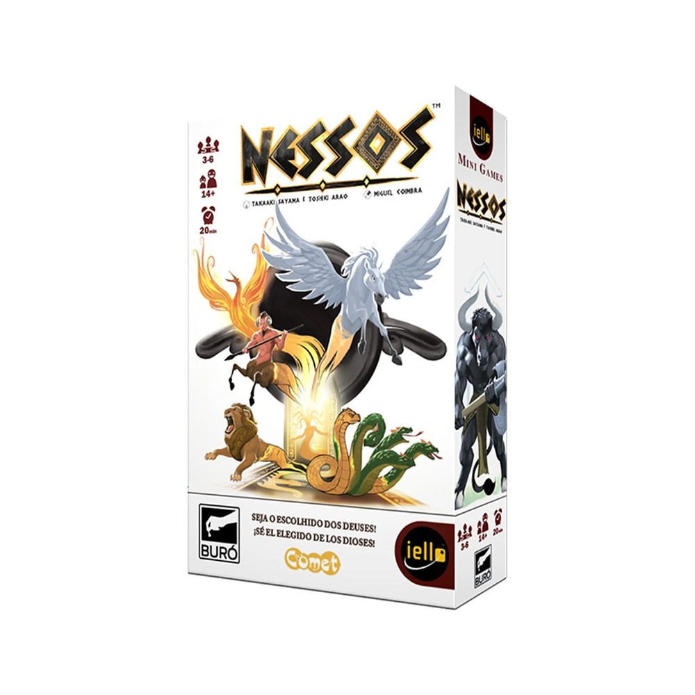 Nessos Jogo de Cartas Buró  - Place Games