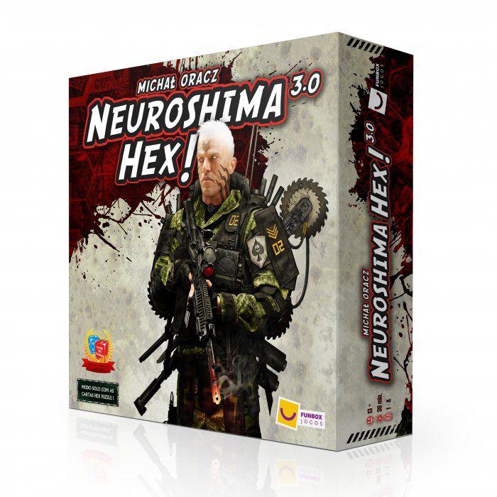 Neuroshima HEX 3.0 Jogo de Tabuleiro Mandala FBX0005  - Place Games