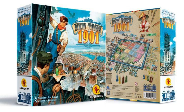 New York 1901 Jogo de Tabuleiro PaperGames J014  - Place Games