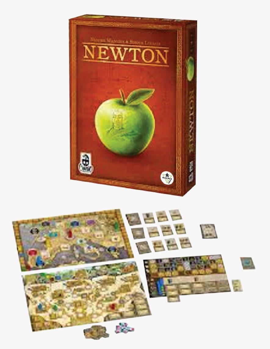 Newton Jogo de Tabuleiro Meeple BR   - Place Games