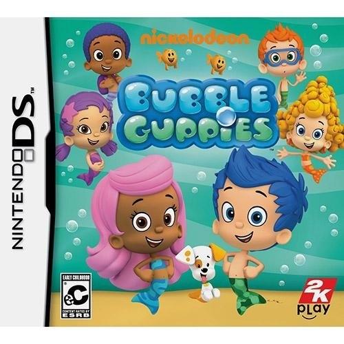 Nickelodeon Bubble Guppies Nintendo DS Original Lacrado  - Place Games