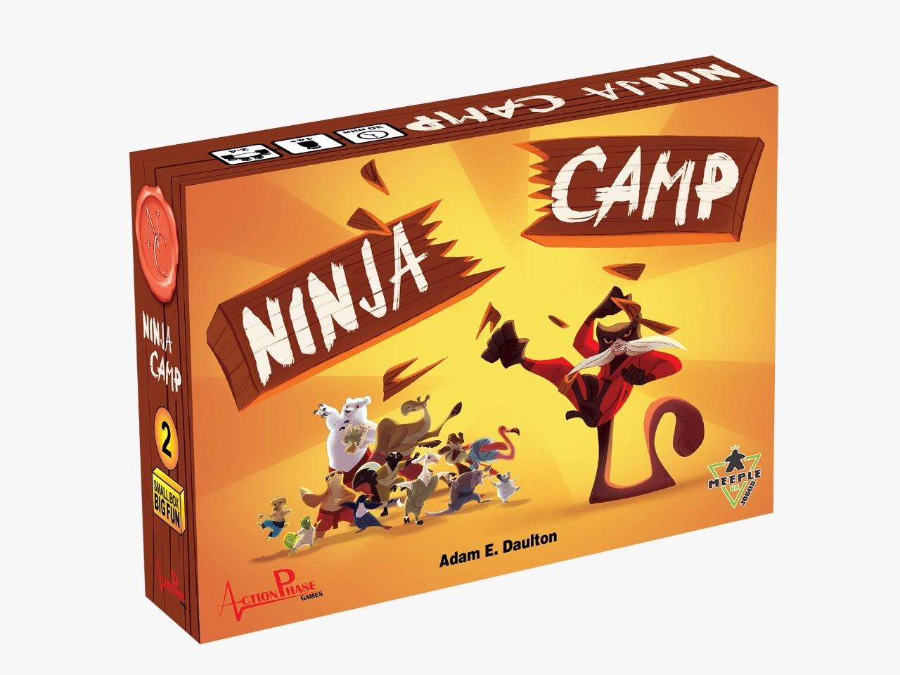 Ninja Camp Jogo de Tabuleiro Meeple BR  - Place Games