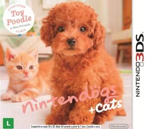 Nintendogs + Cats - Toy Poodle 3DS Original Usado  - Place Games