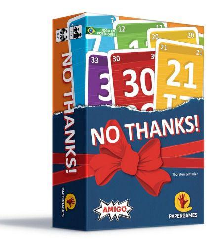 No Thanks! Jogo de Cartas PaperGames J023  - Place Games