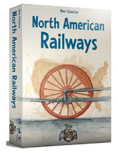 North American Railways Jogo de Tabuleiro Importado Kronos Games  - Place Games