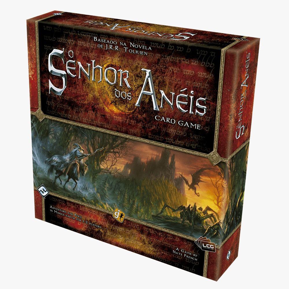 O Senhor dos Aneis Card Game Jogo de Cartas Galapagos LOTCDG001  - Place Games