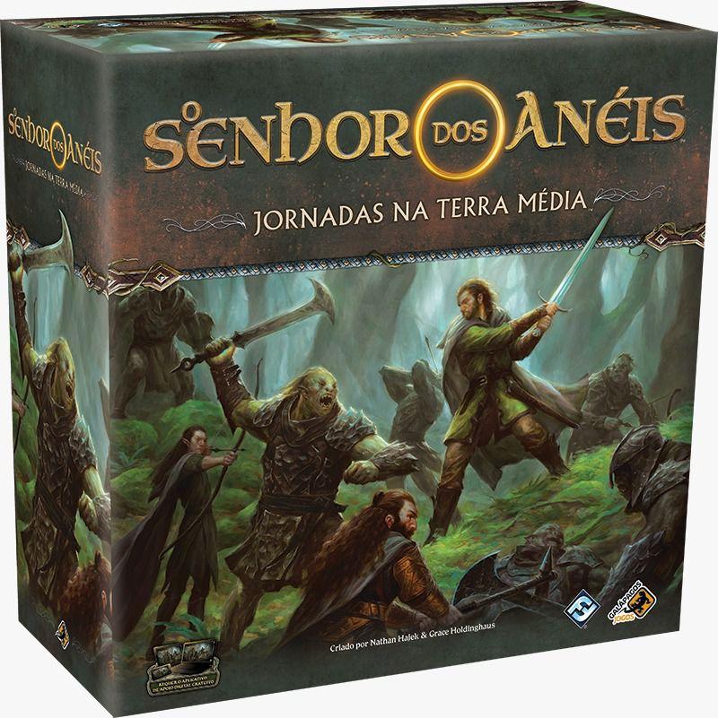O Senhor dos Anéis Jornadas na Terra Média Jogo de Tabuleiro Galapagos JME001  - Place Games