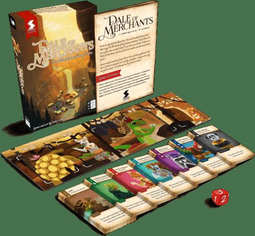 O Vale dos Mercadores  Jogo de Cartas Devir BGVALLE  - Place Games
