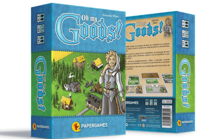 Oh My Goods Jogo de Cartas PaperGames J008  - Place Games