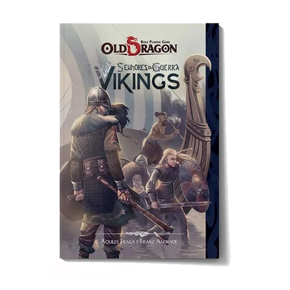 Old Dragon Senhores da Guerra Vikings Livro de RPG Buro  - Place Games