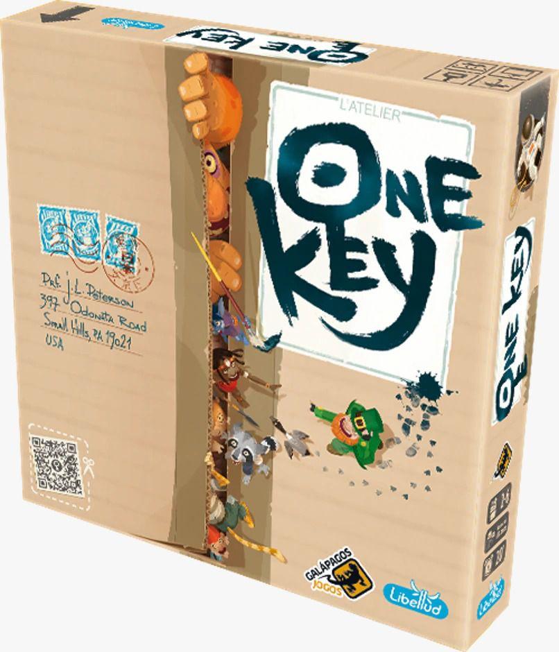 One Key Jogo de Tabuleiro Galapagos ONK001  - Place Games