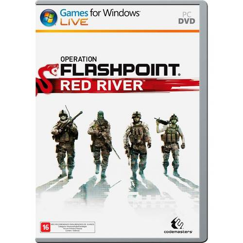 Operation Flashpoint Red River PC Original Lacrado  - Place Games