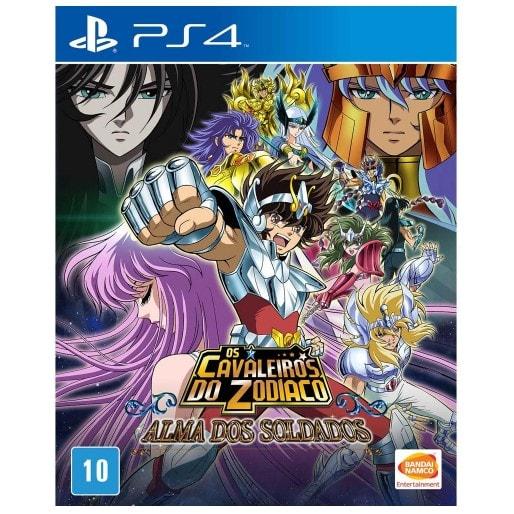 Os Cavaleiros do Zodiaco Alma dos Soldados Playstation 4 Original Usado  - Place Games