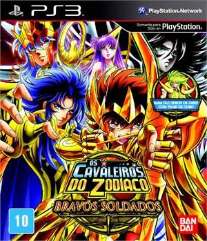 Os Cavaleiros do Zodiaco Bravos Soldados Playstation 3 Original Lacrado  - Place Games